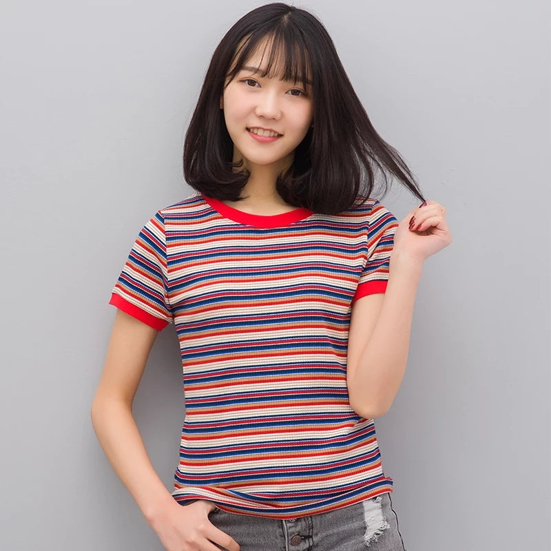 Rainbow Striation T-shirt
