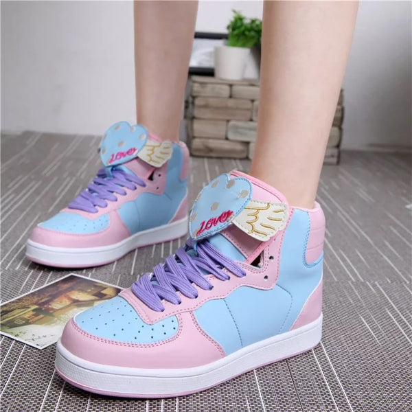 Kawaii Cartoon Pastel Shoes