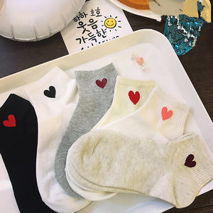 Adorable Love Cotton Socks