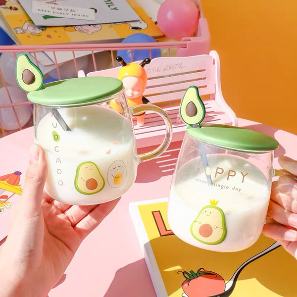 Kawaii Avocado Cup