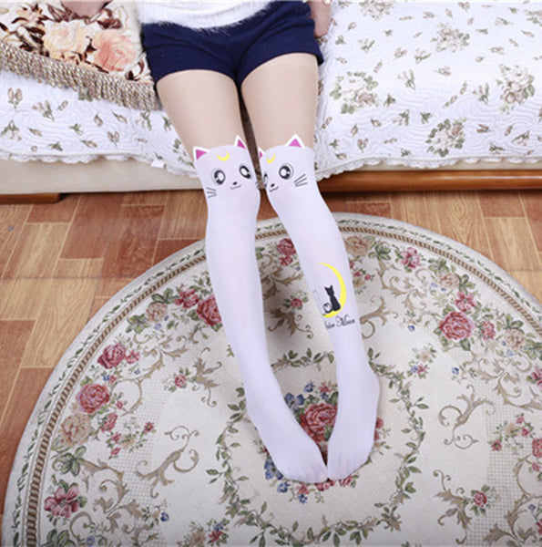 Sailor Cat Body Stocking