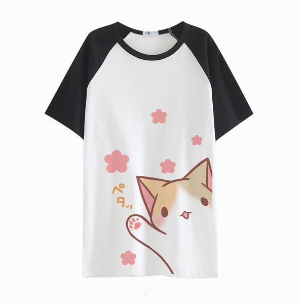 Kawaii Kitty Mew T-shirt