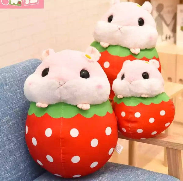 Fruit Hamster Plush Toy