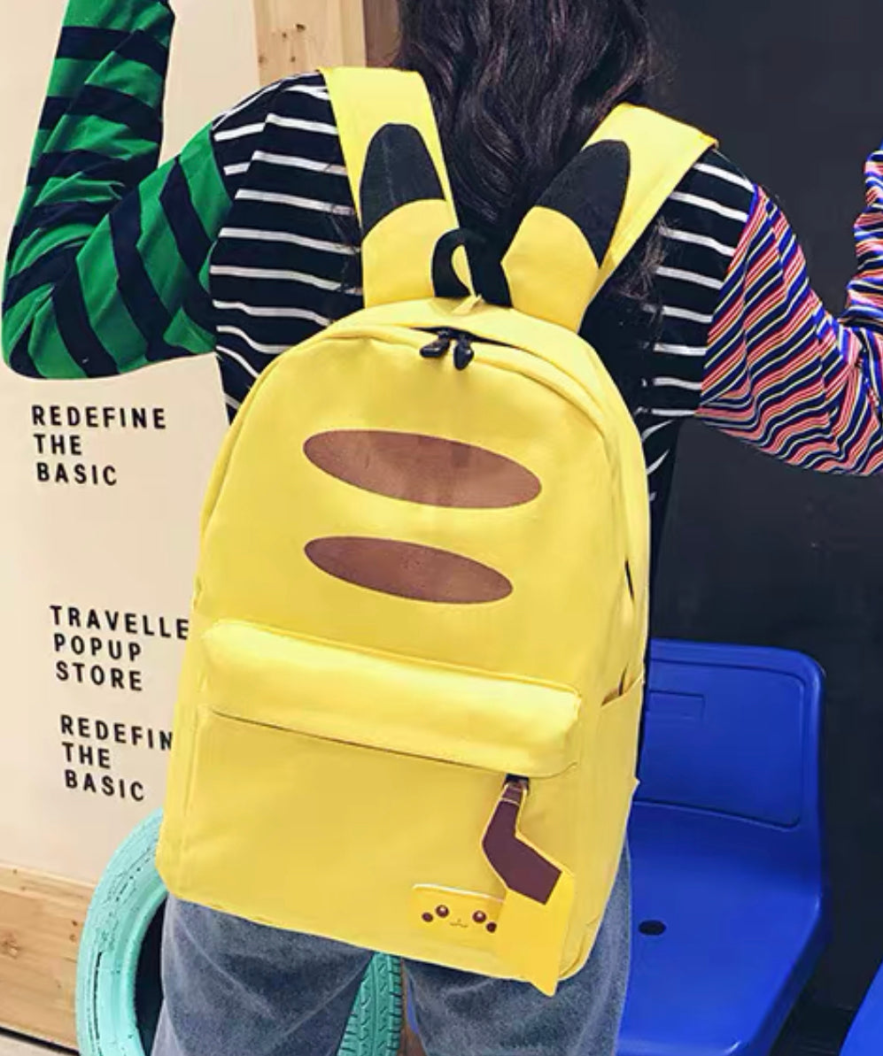 Cute Pikachu Backpack