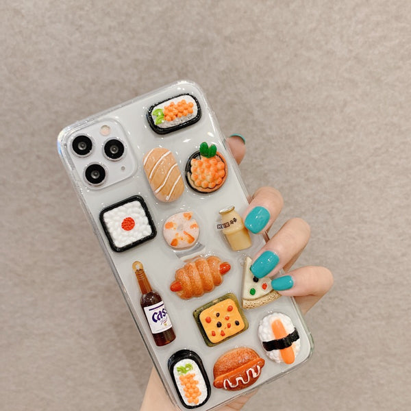 Foods Phone Case For Iphone7/8/7/8plus/X/XS/XR/XSmax/11/11pro/11proMax/SE
