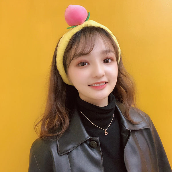 Cute Peach Headband