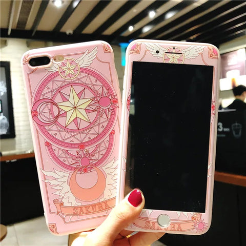 Sakura Phone Case For Iphone6/6S/6P/7/7P/8/8plus/X/XS/XR/XSmax/11/11pro/11proMAX