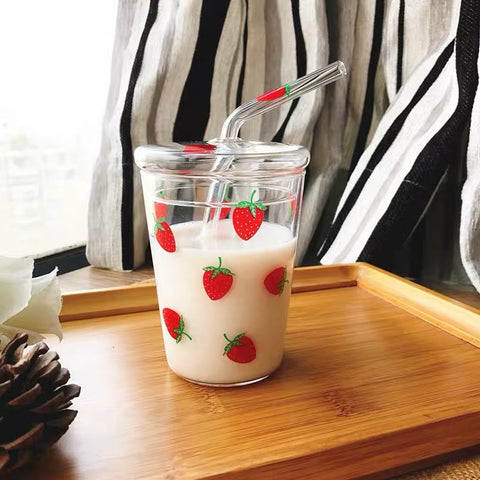 Cute Strawberry Cup