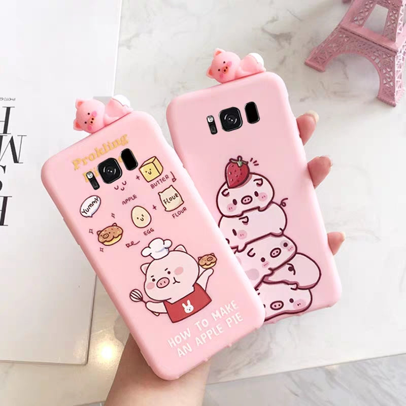 Pig Phone Case For Samsung