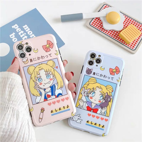 Usagi Phone Case For Iphone7/7P/8/8plus/X/XS/XR/Xs max/11/11pro/11pro max