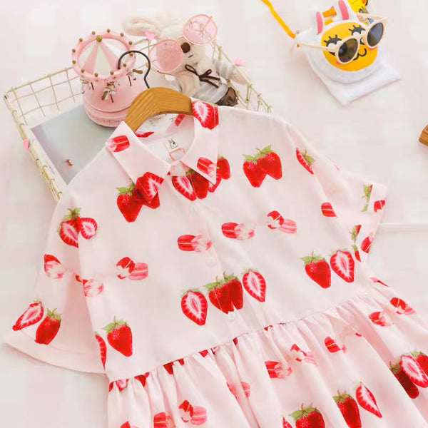 Sweet Strawberry Dress