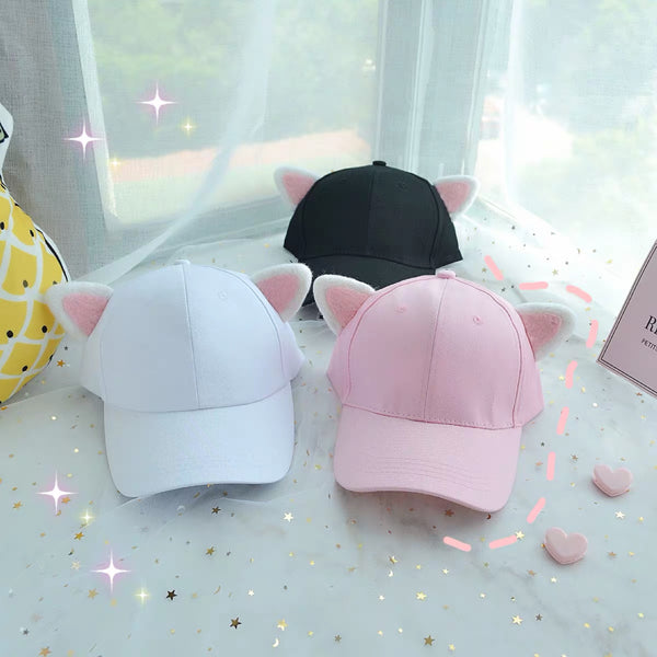 Kawaii Ears Cap