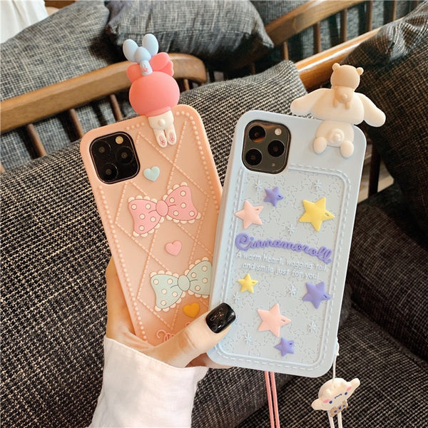 Kawaii Phone Case For Iphone6/6S/6Plus/7/7Plus/8plus/X/XS/XR/XSmax/11/11Pro/11proMax