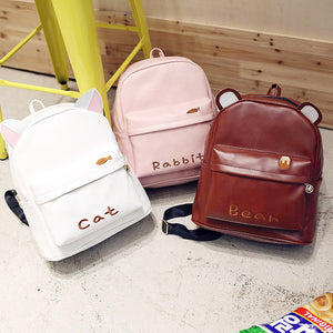 Kawaii Animal Ears Knapsack