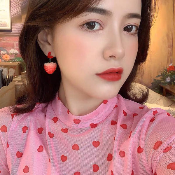 Strawberry Earrings