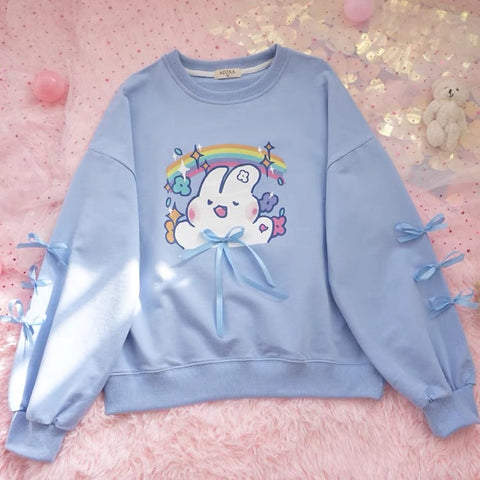 Kawaii Rabbit Hoody