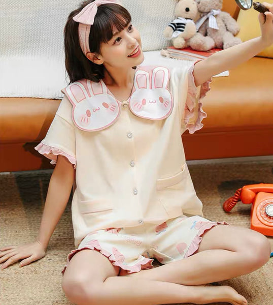 Kawaii Rabbit Pajamas