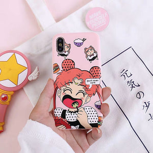 Fat Usagi Phone Case For Iphone6/6s/6p/7/8/7/8plus/X/XS/XR/XSmax