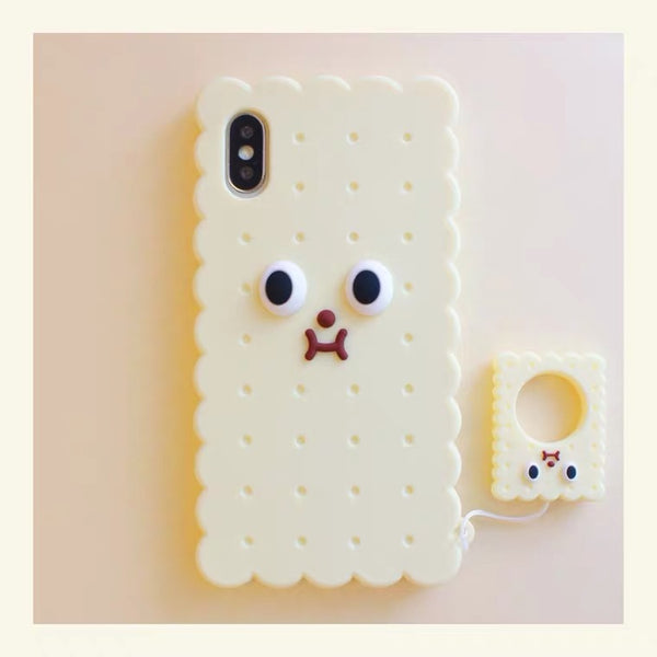 Biscuits Phone Case For Iphone7/7P/8/8plus/X/XS/XR/Xs max