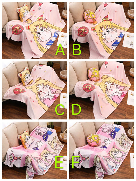 Sailor Moon Pillow & Blanket