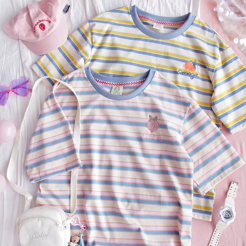 Cute Stripe T-shirt
