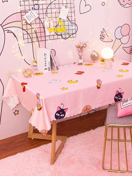 Sailor Cat Tablecloth