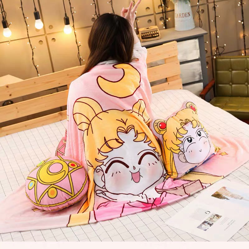Anime  Pillow & Blanket