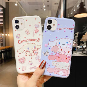 Cinnamoroll Phone Case For Iphone6/6S/6P/7/7P/8/8plus/X/XS/XR/Xs max/11/11pro/11proMAX
