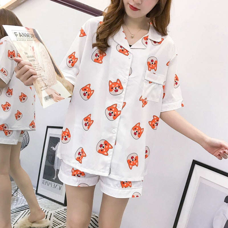 Kawaii Dog Pajamas