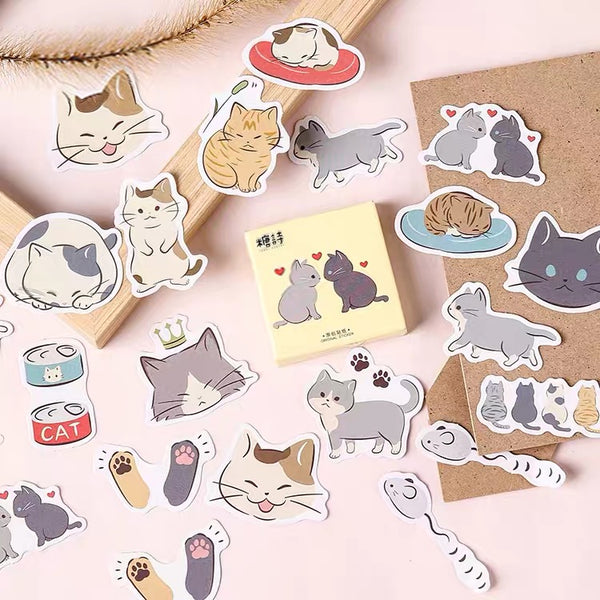 Kawaii Cats Sticker
