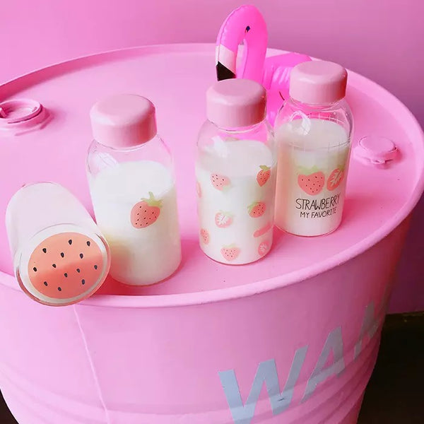 Cute Strawberry Drinking Bottle