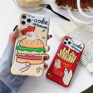 Food Phone Case For Iphone6/6S/6P/7/7P/8/8plus/X/XS/XR/Xs max/11/11pro/11pro max