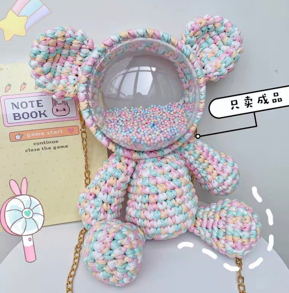 Kawaii Bear Handmade Bag