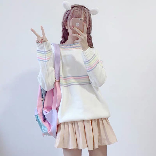Cute Rainbow Sweater
