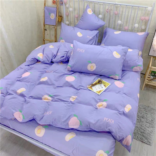 Sweet Peach Bedding Set