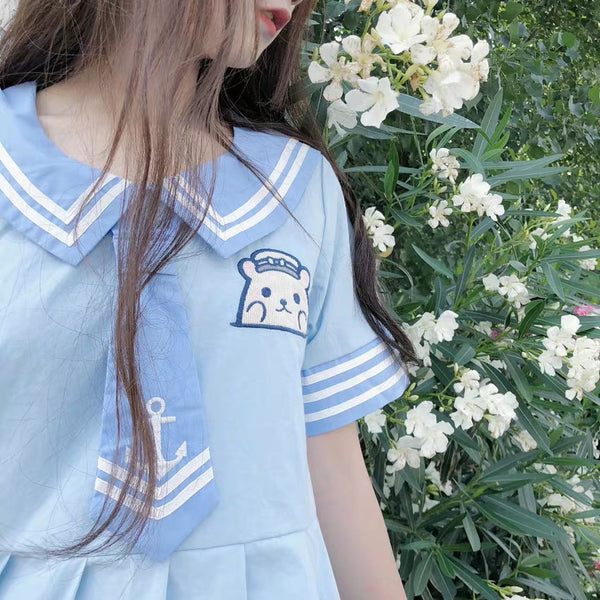 Sailor Bear Dress