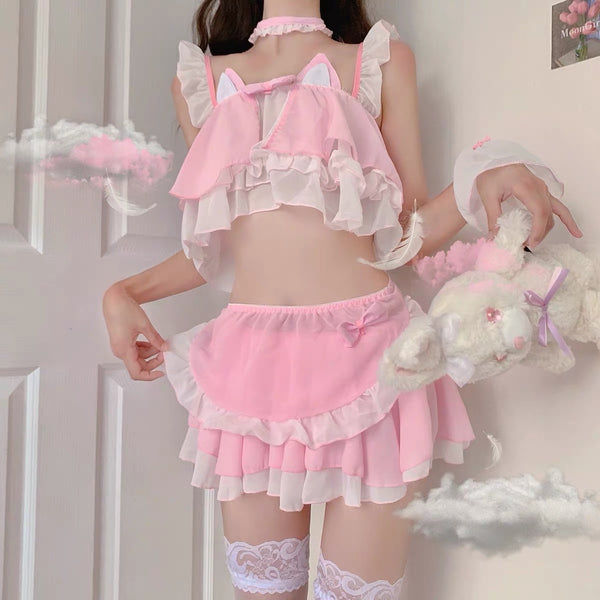 Kawaii Cat Suit