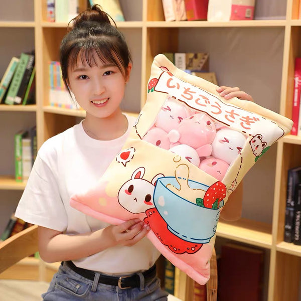 Kawaii Bunny Dolls Pillow