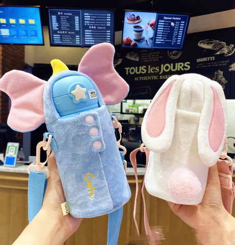 Kawaii Animal Vacuum Cup