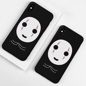 Cute Noface Phone Case For Iphone6/6S/6P/7/7P/8/8plus/X/XS/XR/Xs max/11/11Pro/11proMax