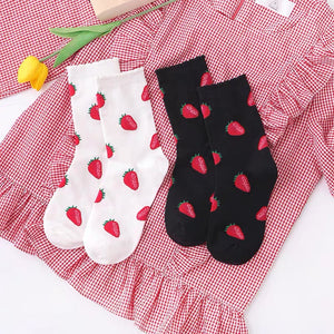 Lovely Strawberry Socks