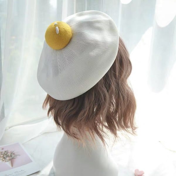 Kawaii Egg Hat