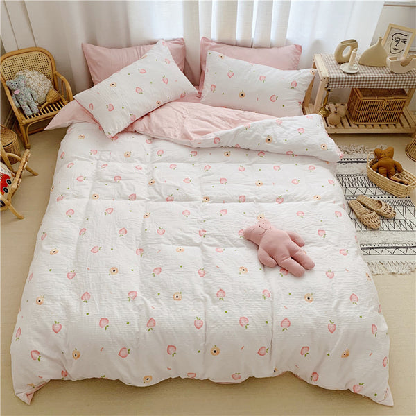 Little Peaches Bedding Set