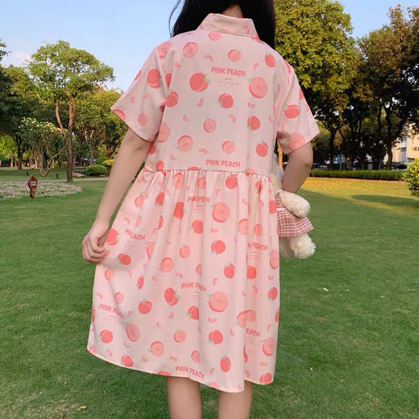 Sweet Peach Dress