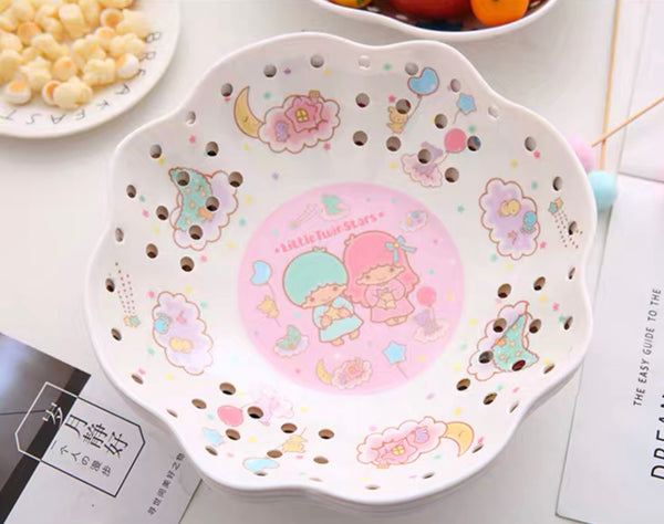 Cute Cartoon Fruit Plate