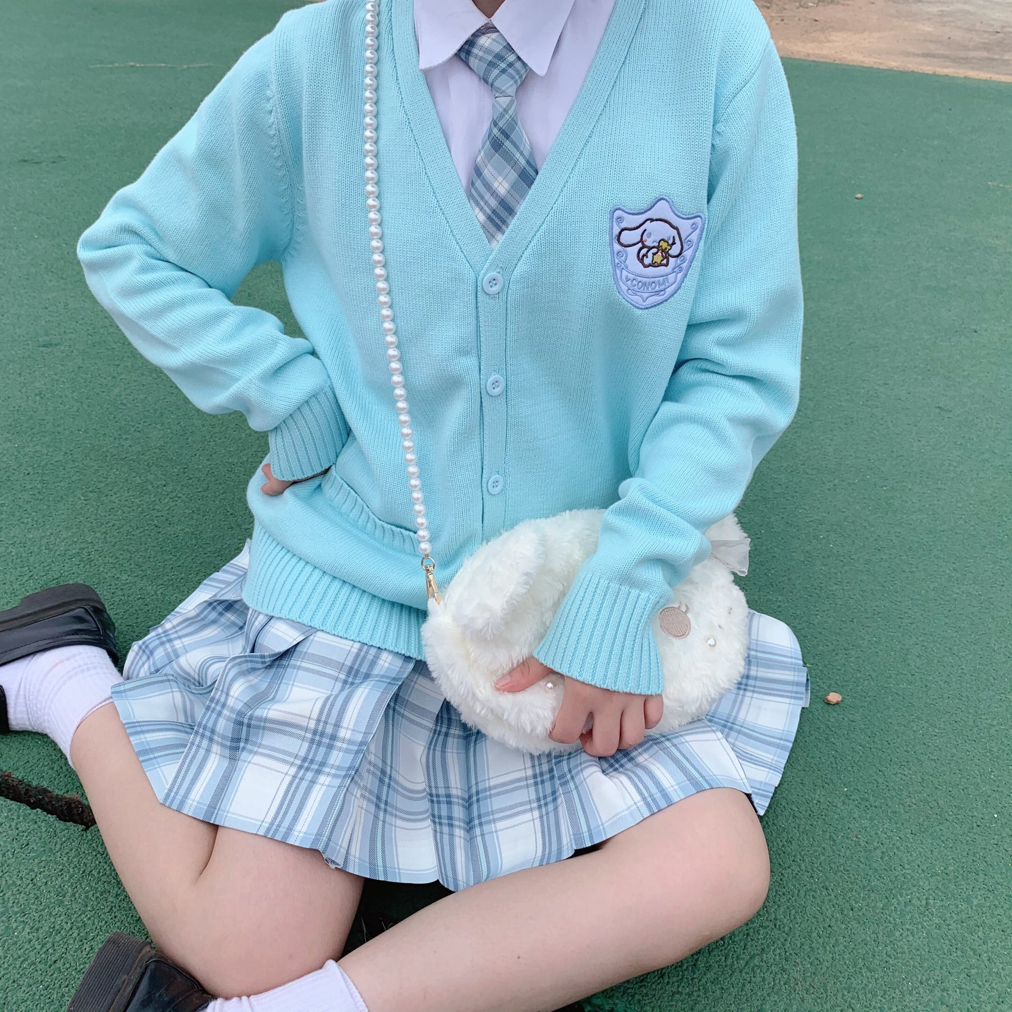 Kawaii Cinnamoroll Knitted Sweater