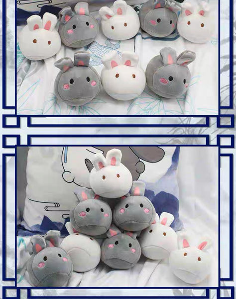 Kawaii Rabbit Dolls Pillow