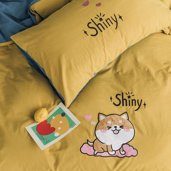Shiny Bedding Set