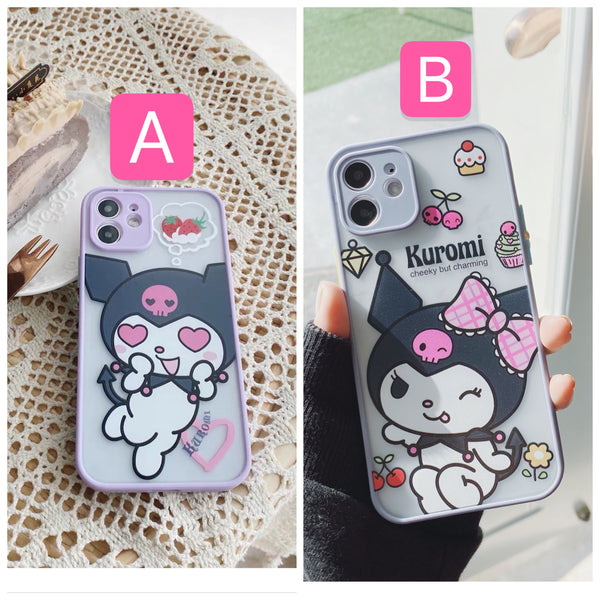 Kuromi Phone Case For Iphone7/7P/8/8plus/X/XS/XR/Xs max/11/11Pro/11proMax/12/12proMax/12pro
