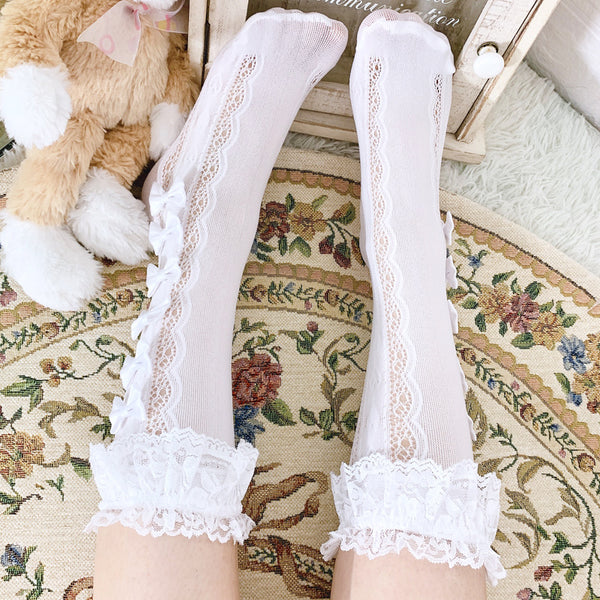 Kawaii Bowknot Socks